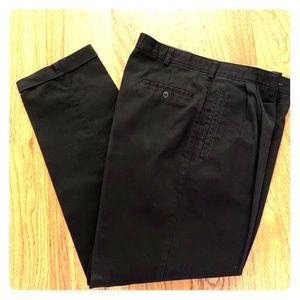 Savane Men's Black slacks